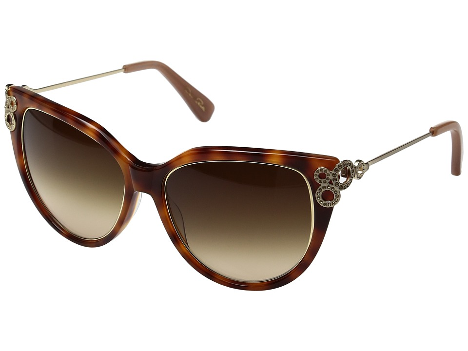 Oscar de la Renta - ODLRS-221 (Honey Tortoise) Fashion Sunglasses