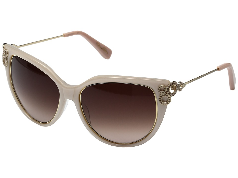 Oscar de la Renta - ODLRS-221 (Ivory/Cream) Fashion Sunglasses