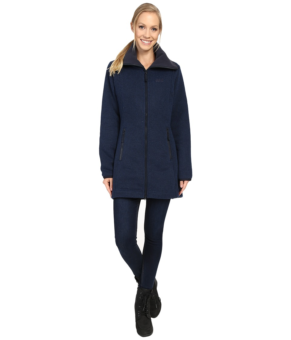 Jack Wolfskin - Solitary Morning Coat (Night Blue) Women's Coat