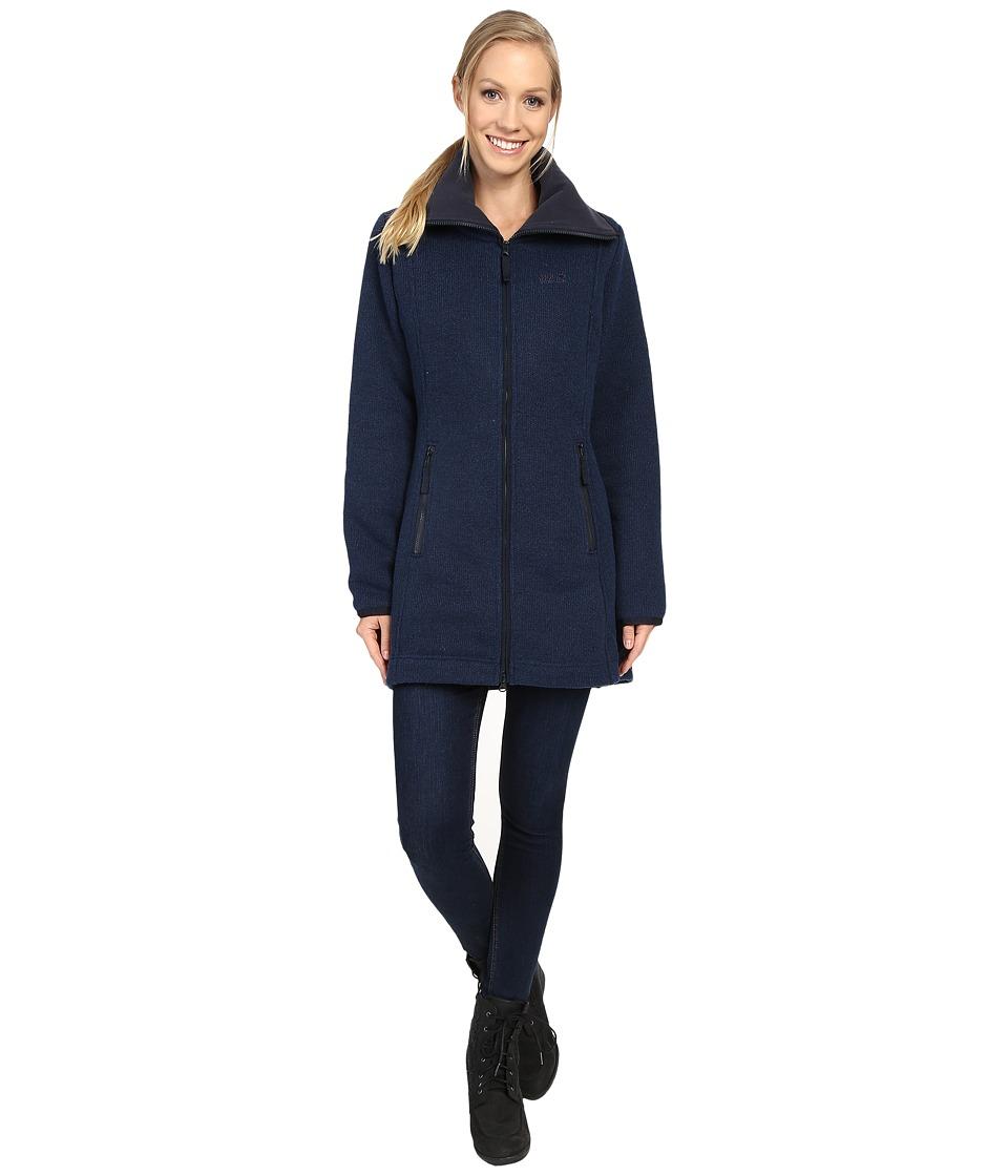 Jack Wolfskin Solitary Morning Coat (Night Blue) Women
