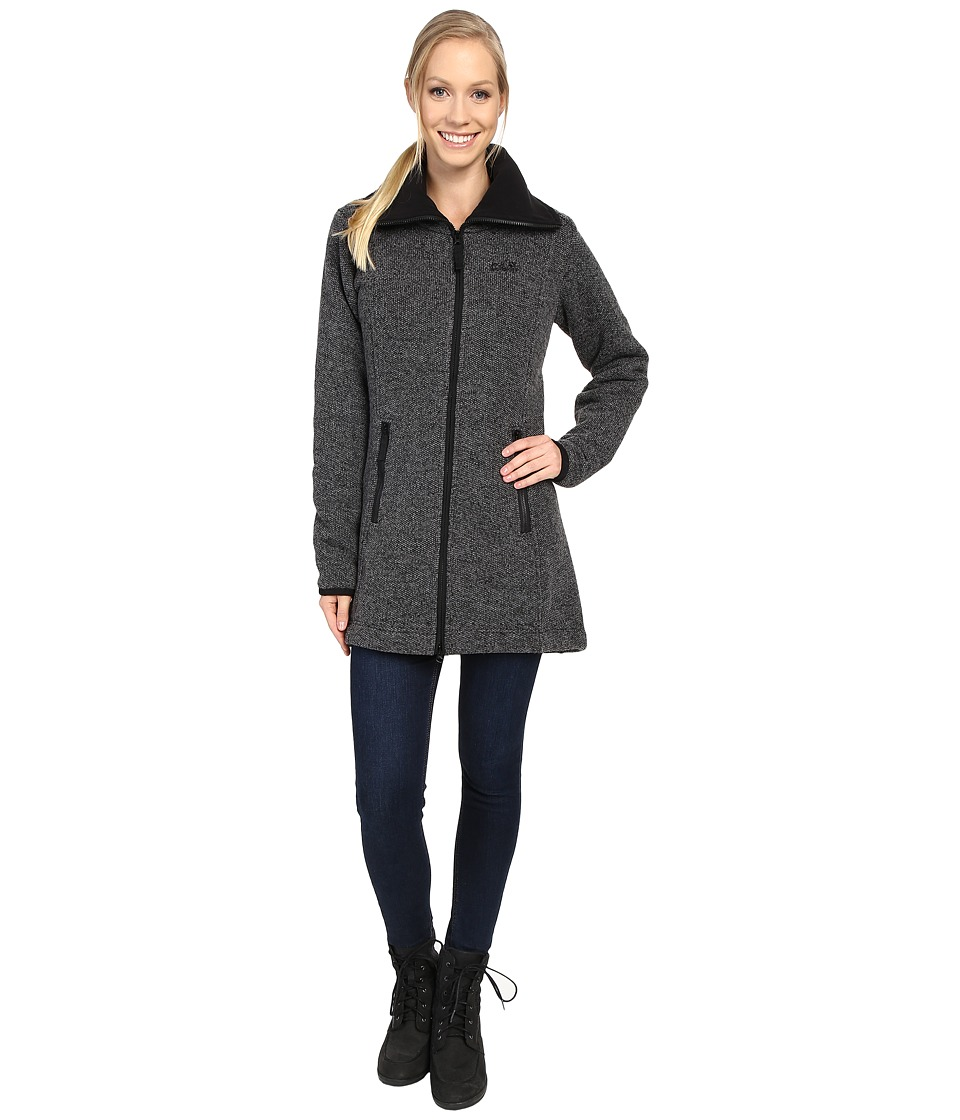 Jack Wolfskin - Solitary Morning Coat (Black) Women's Coat