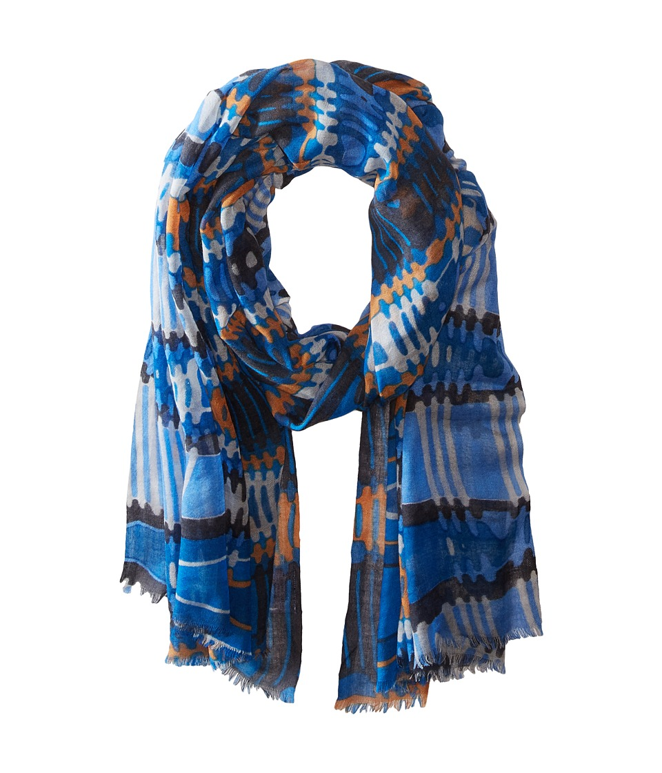 Bindya - Lulla by Bindya Stole Pyramid Scarf (Blue) Scarves