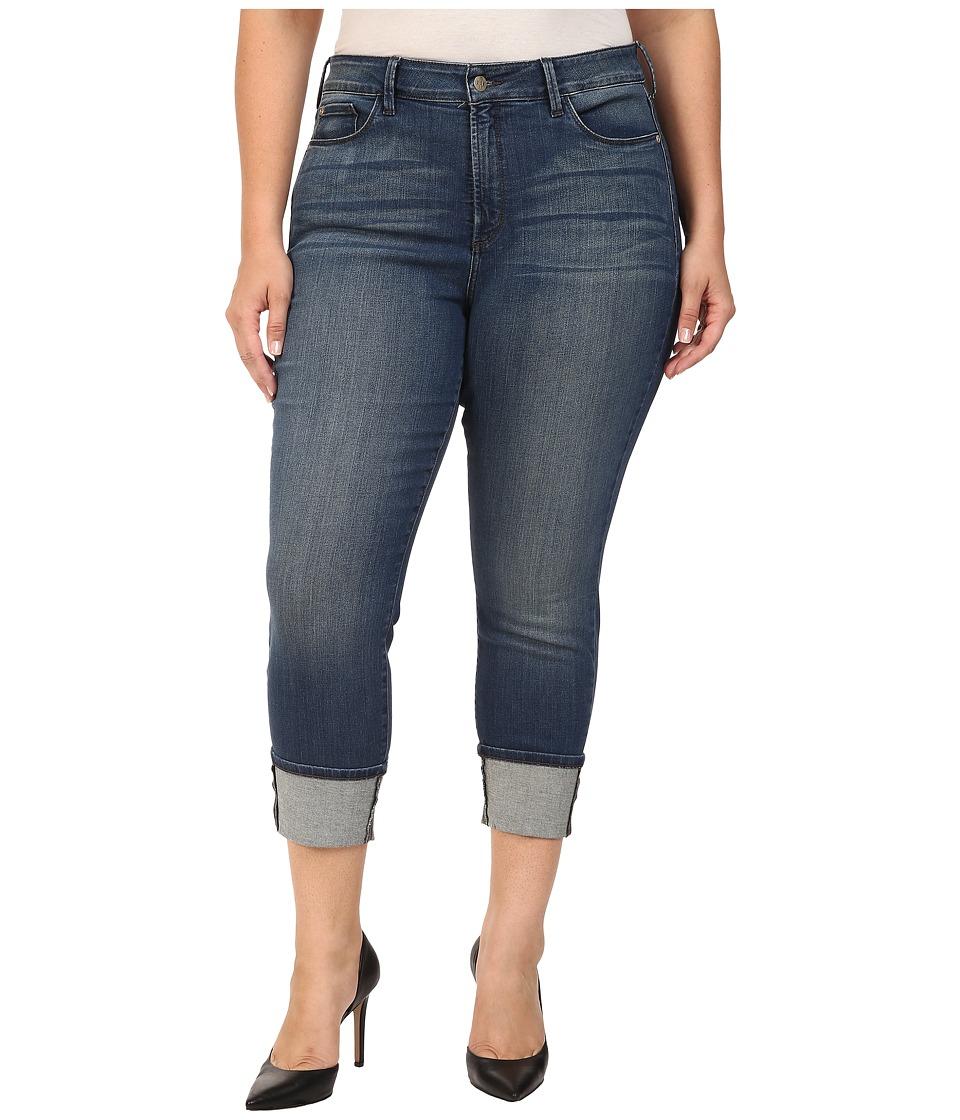 NYDJ Plus Size - Plus Size Lorena Boyfrined Jeans in Montpellier (Montpellier) Women's Jeans