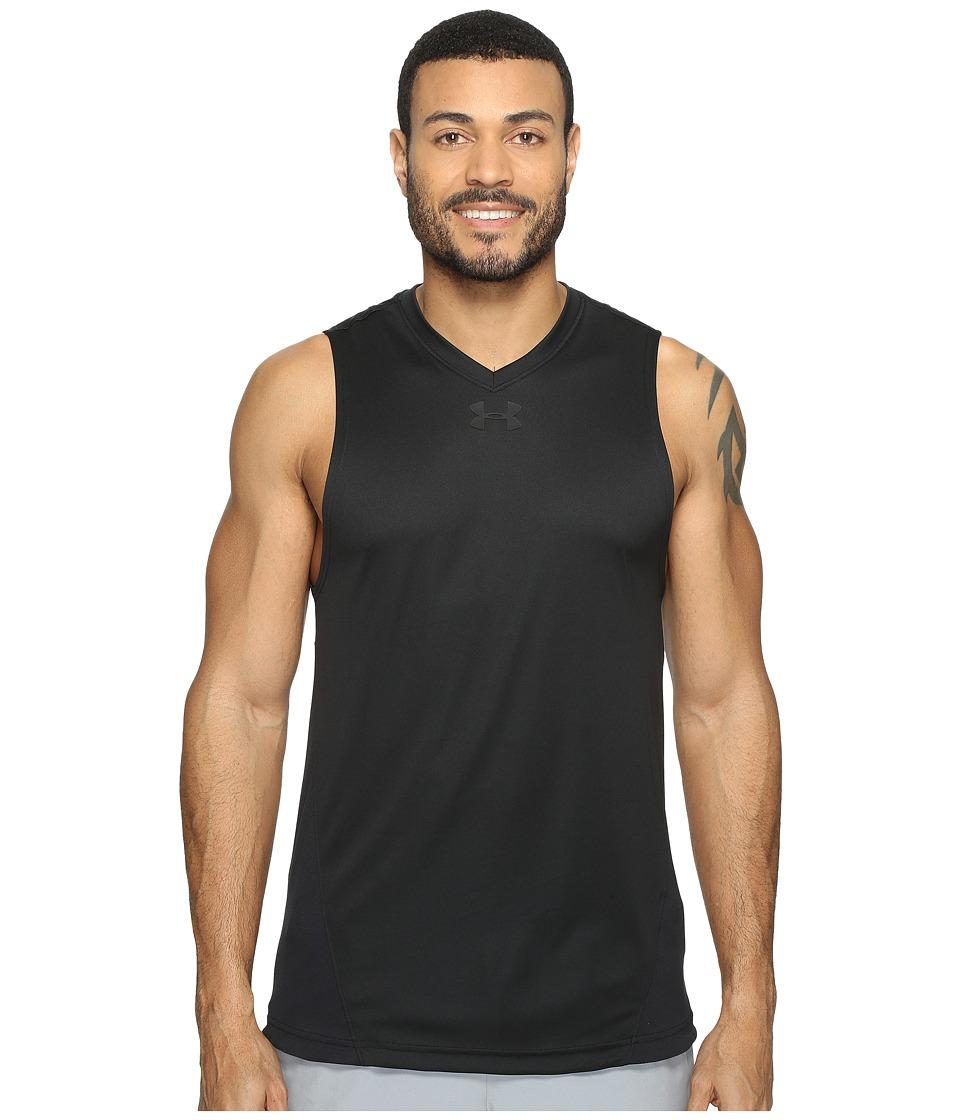 Under Armour - UA Select Tank Top (Black/Black) Men's Sleeveless