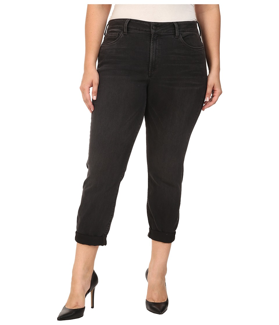 NYDJ Plus Size - Plus Size Sylvia Relaxed Boyfriend Jeans in Future Fit Denim in Kensington (Kensington) Women's Jeans