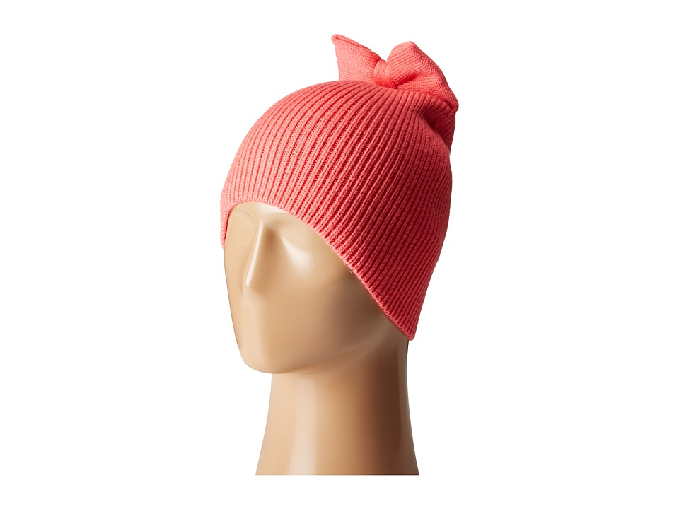 Kate Spade New York - Solid Bow Knit Hat (Costume Pink) Beanies