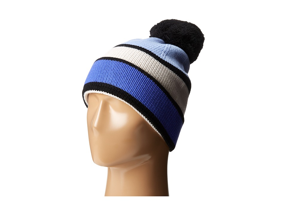 Kate Spade New York - Color Block Beanie (Ensemble Blue) Beanies