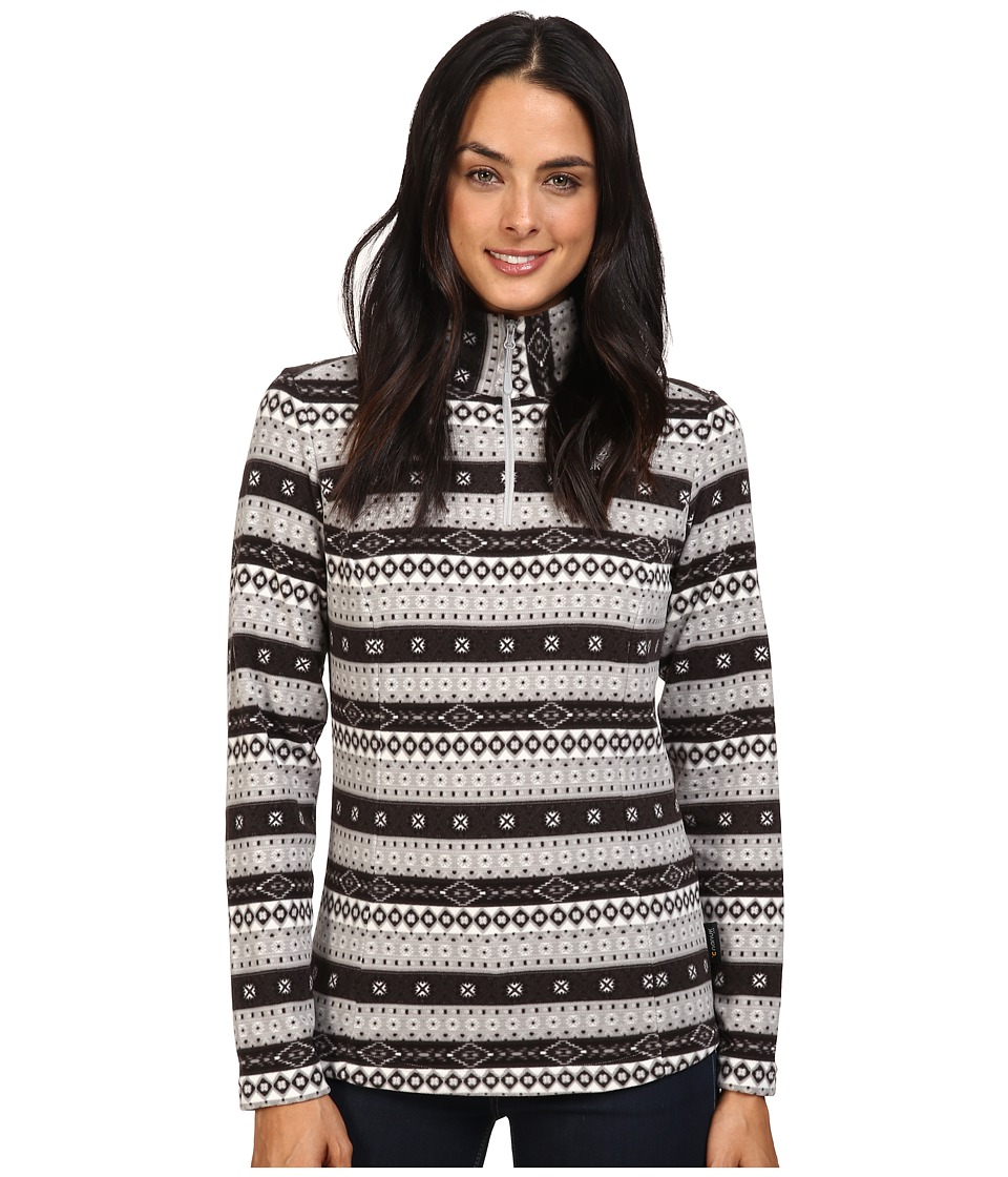 Jack Wolfskin - Ice Crystal Pullover (Alloy All Over) Women's Clothing