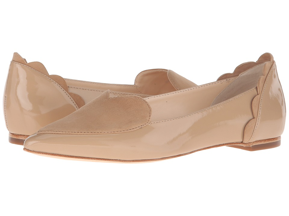 Isa Tapia - Clement (Summer Sand Patent/Suede) Women's Shoes