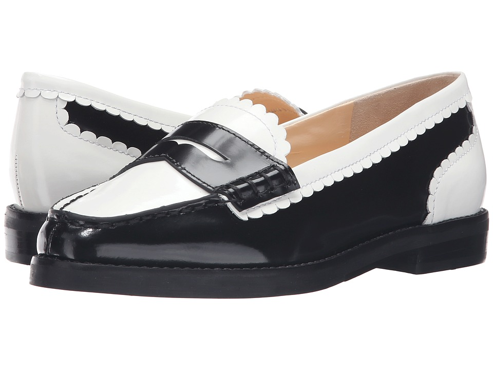 Isa Tapia Caroline (Black/White Leather) Women