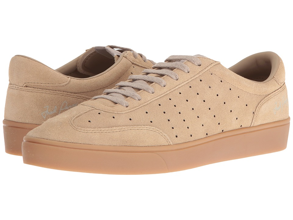 Fred Perry - Umpire Suede (Warm Stone/Natural) Men's Shoes