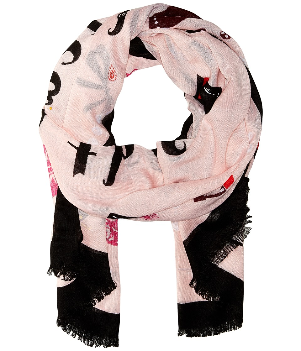 Kate Spade New York - Steal The Scene Oblong (Au Natural) Scarves