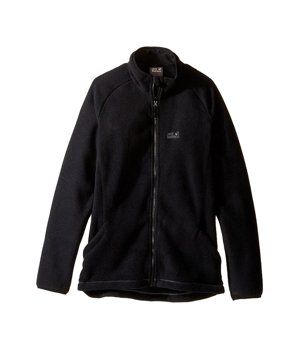 Jack Wolfskin Kids - Thunder Bay Fleece Jacket (Infant/Toddler/Little Kids/Big Kids) (Black) Boy's Coat