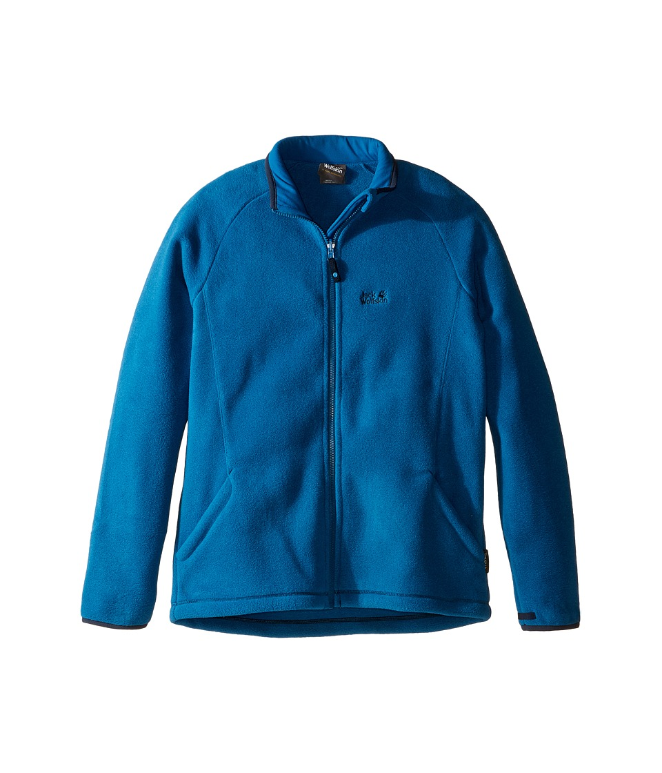 Jack Wolfskin Kids - Thunder Bay Fleece Jacket (Infant/Toddler/Little Kids/Big Kids) (Glacier Blue) Boy's Coat