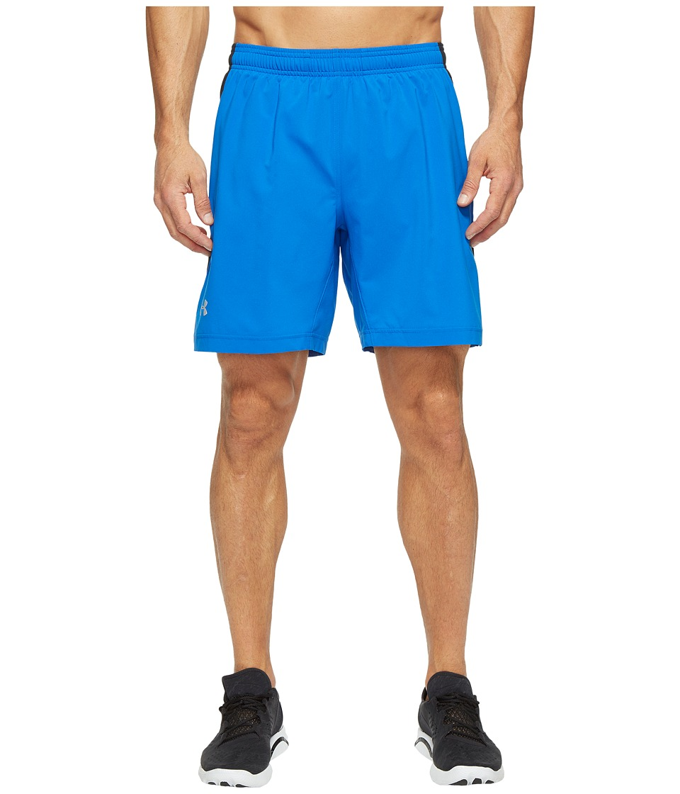 Under Armour - UA Launch Stretch Woven 2-in-1 Shorts (Blue Marker/Black) Men's Shorts