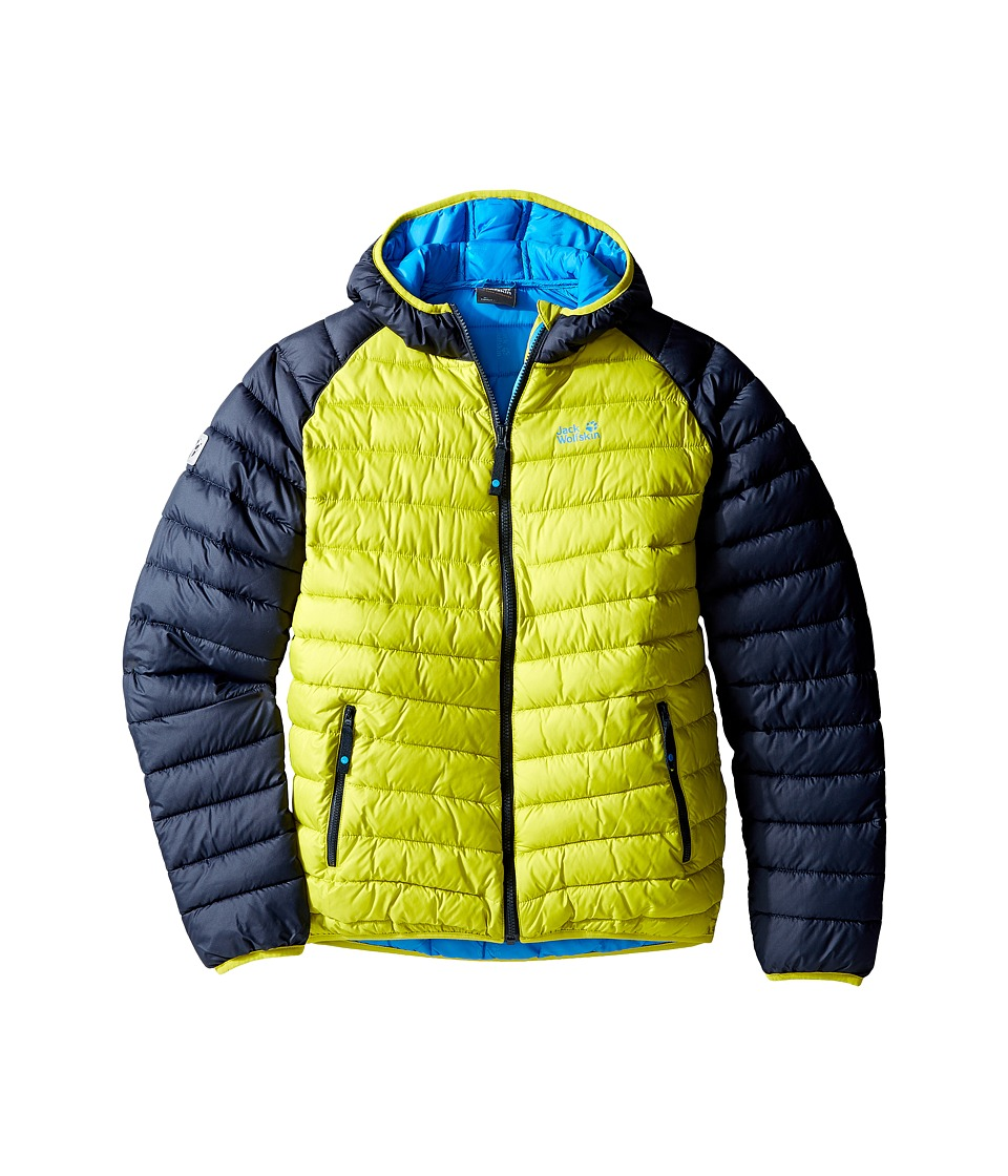 Jack Wolfskin Kids - Zenon Jacket (Infant/Toddler/Little Kids/Big Kids) (Wild Lime) Boy's Coat