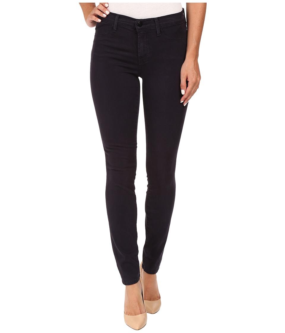 J Brand - Mid-Rise Super Skinny in Dark Navy (Dark Navy) Women's Jeans