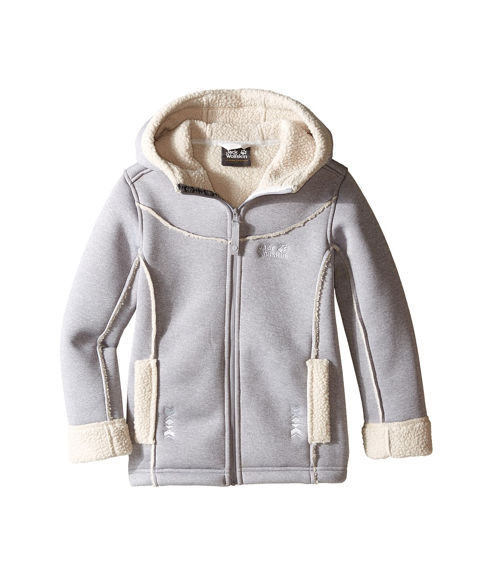 Jack Wolfskin Kids - Terra Nova (Infant/Toddler/Little Kids/Big Kids) (Light Grey) Girl's Coat