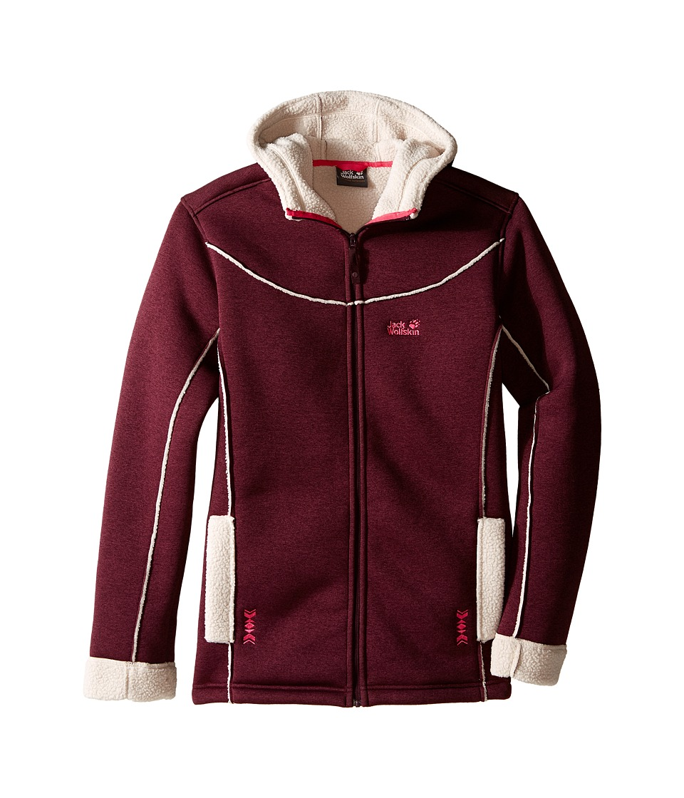 Jack Wolfskin Kids - Terra Nova (Infant/Toddler/Little Kids/Big Kids) (Dark Berry) Girl's Coat