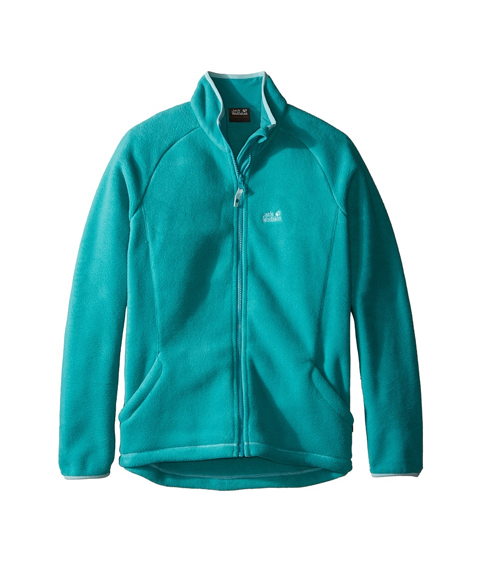 Jack Wolfskin Kids - Thunder Bay Fleece Jacket (Infant/Toddler/Little Kids/Big Kids) (Spearmint) Girl's Coat