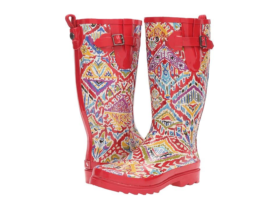 Sakroots - Rhythm (Sweet Red Brave Beauti) Women's Rain Boots