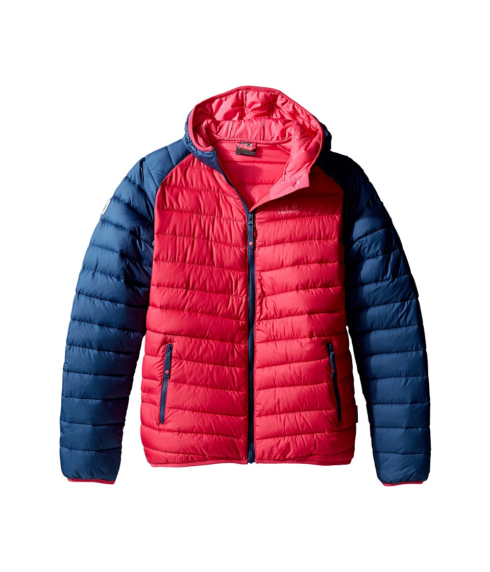 Jack Wolfskin Kids - Zenon Jacket (Infant/Toddler/Little Kid/Big Kid) (Azalea Red) Girl's Coat
