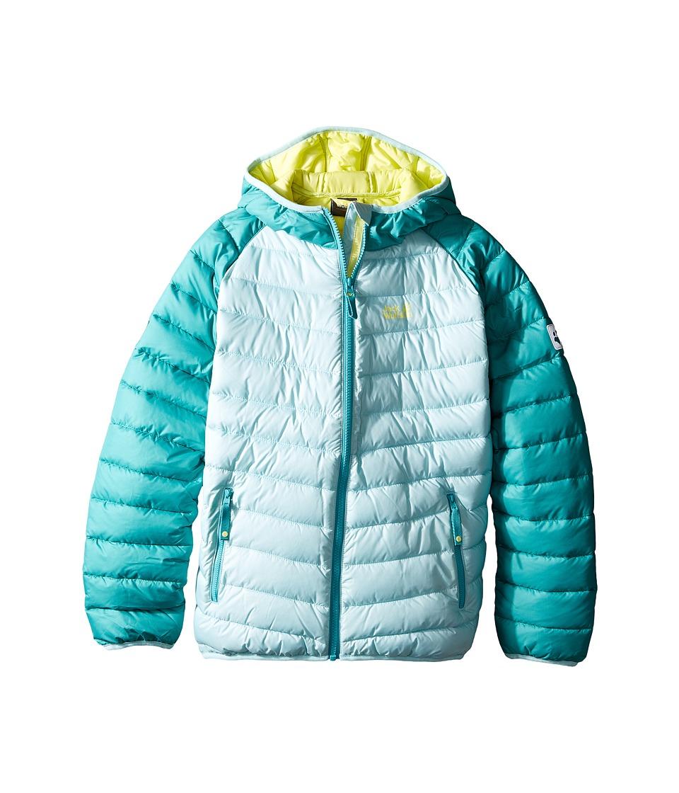 Jack Wolfskin Kids - Zenon Jacket (Infant/Toddler/Little Kid/Big Kid) (Mineral Blue) Girl's Coat