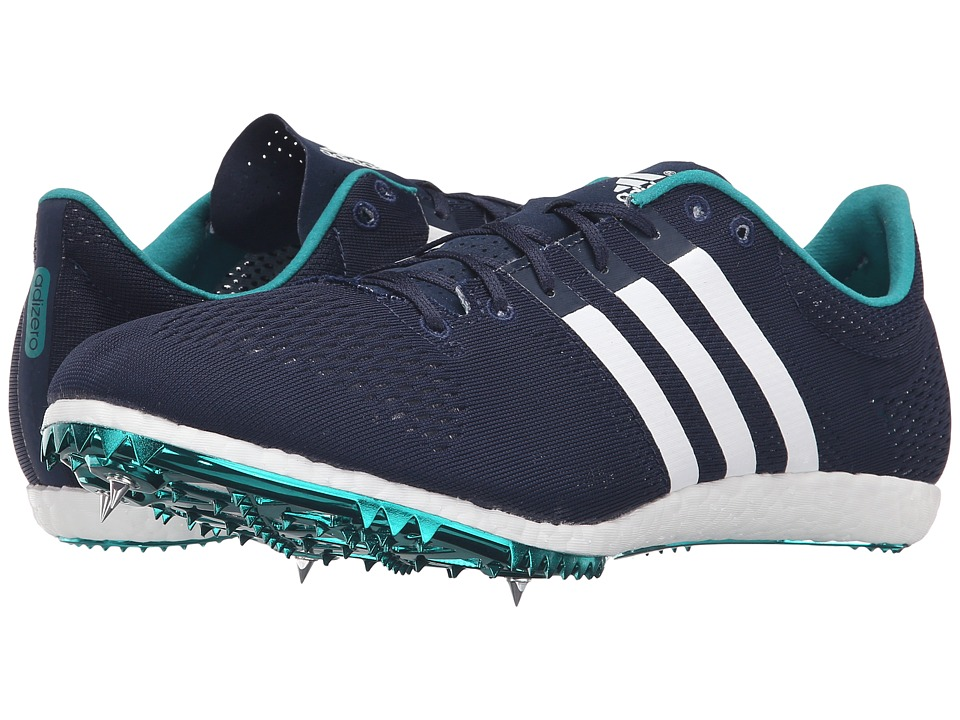 adidas - Adizero Avanti (Navy/White/EQT Green) Athletic Shoes