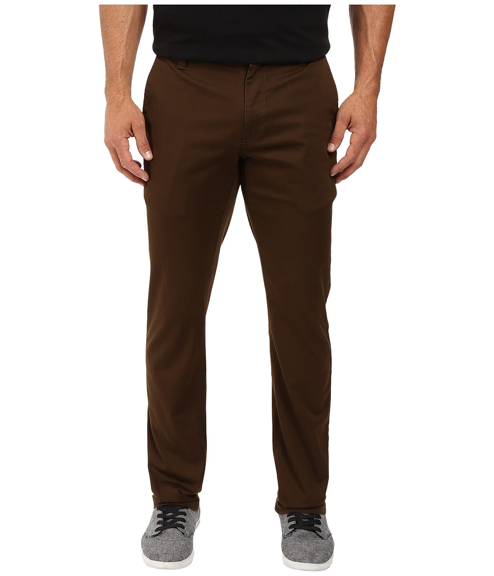 Volcom - Frickin Modern Stretch Chino (Dark Chocolate) Men's Casual Pants
