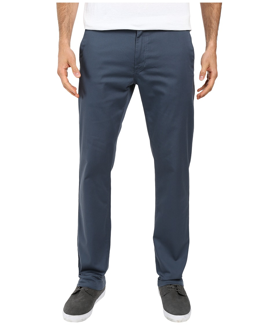 Volcom - Frickin Modern Stretch Chino (Airforce Blue) Men's Casual Pants