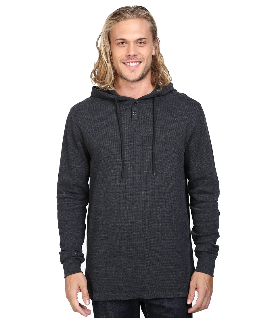 Volcom - Murphy Thermal (Black) Men's Clothing