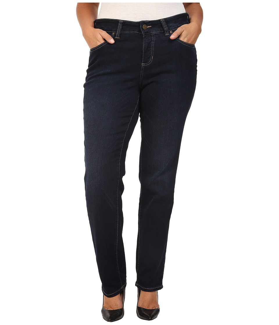 Jag Jeans Plus Size Plus Size Portia Straight in Indio Platinum Denim (Indio) Women