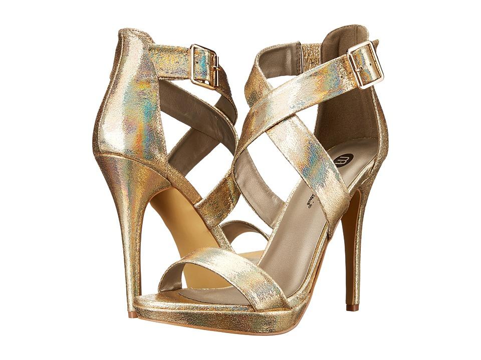 Michael Antonio - Luckey - Metallic (Gold) High Heels