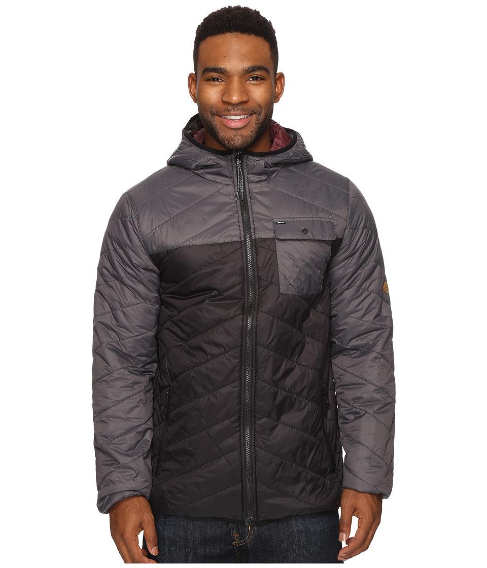 Rip Curl - Ynez Jacket (Charcoal) Men's Coat