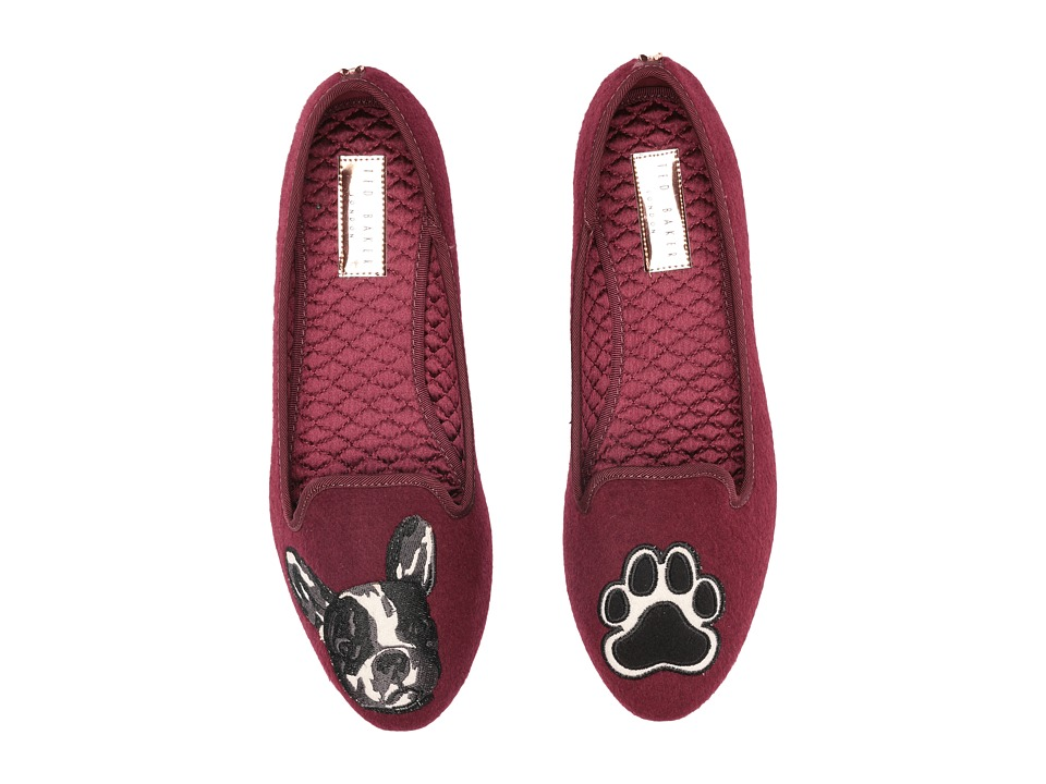 Ted Baker - Ayaya (Burgundy Wool) Women's Slippers