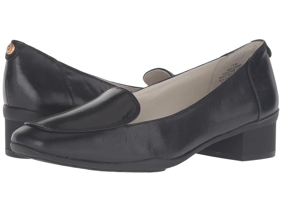 Anne Klein Daneen (Black Leather) Women