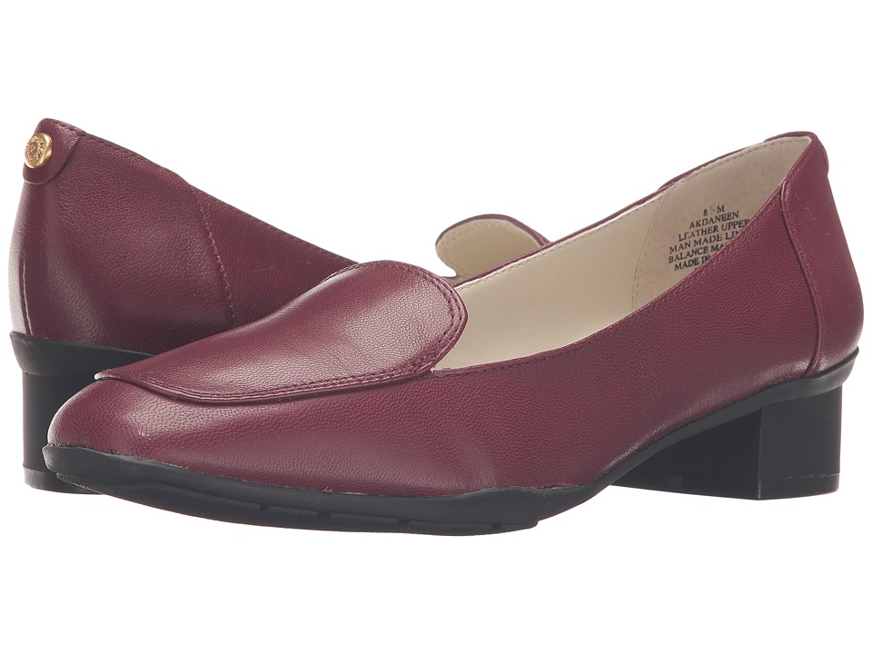 Anne Klein Daneen (Wine Leather) Women