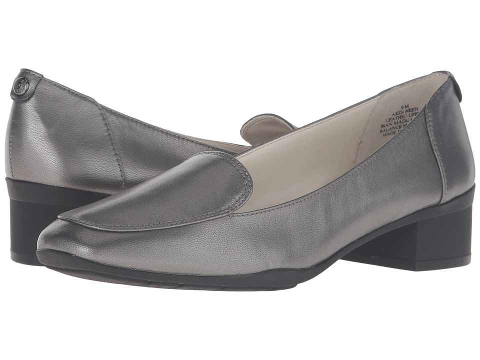 Anne Klein Daneen (Dark Pewter Leather) Women
