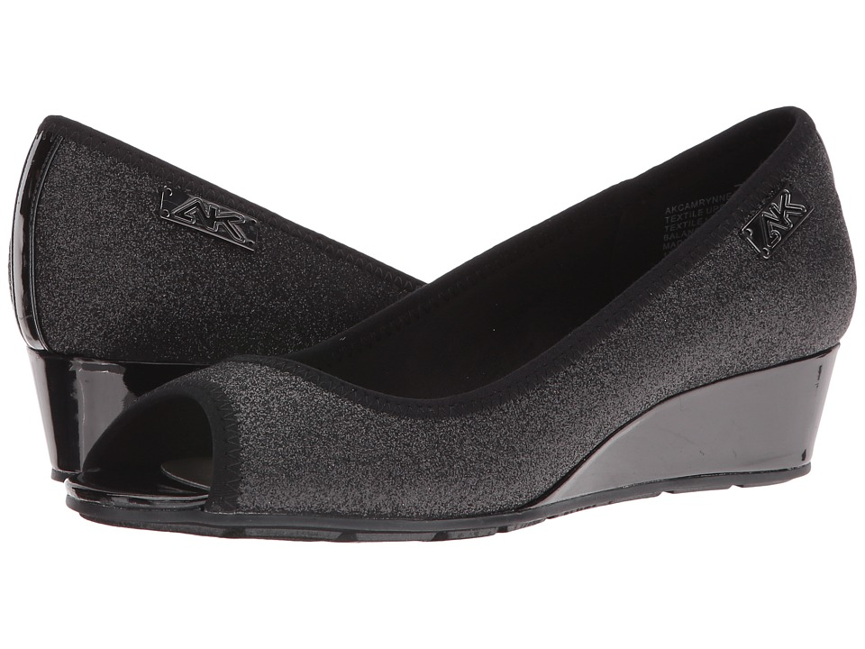 Anne Klein Camrynne (Black Combo Fabric) Women