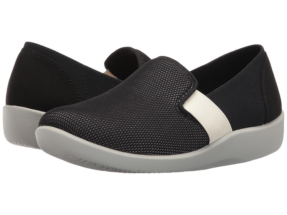 Clarks - Sillian Oak (Black/Frost Grey) Women's Sandals