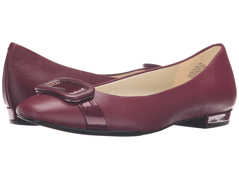 Anne Klein Elonie (Wine/Wine Leather) Women
