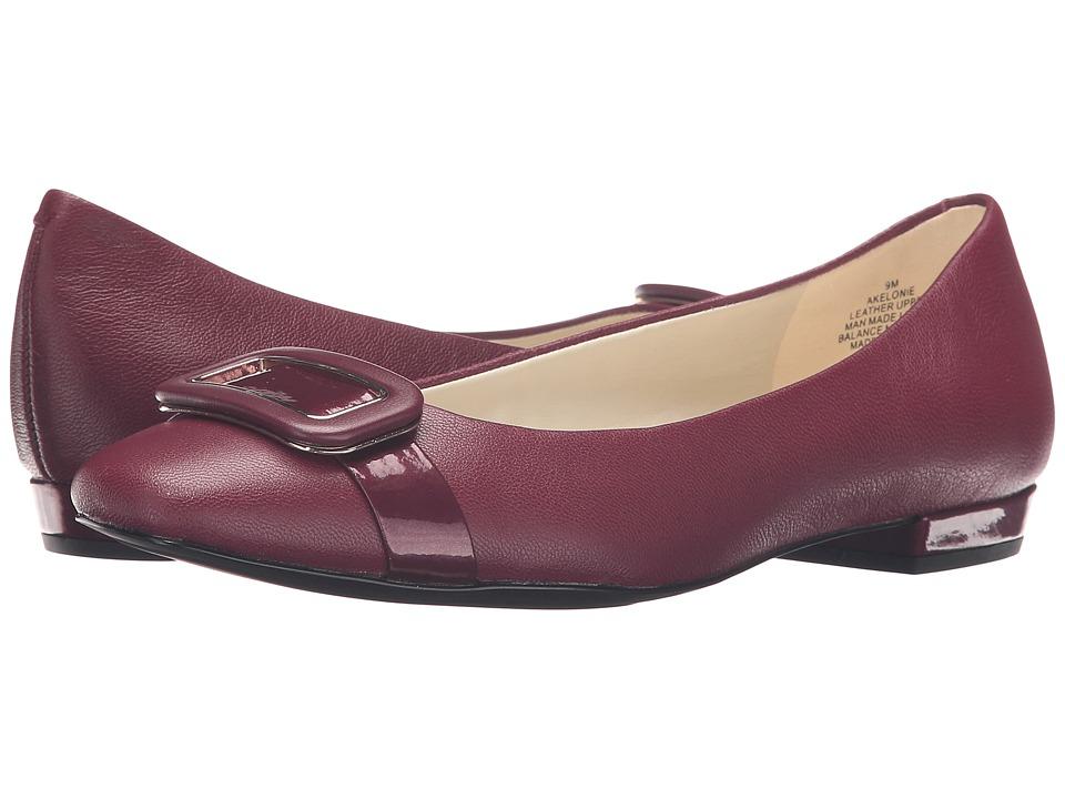 Anne Klein - Elonie (Wine/Wine Leather) Women's Shoes