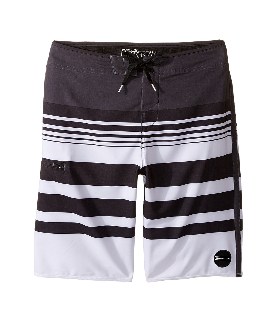 O'Neill Kids - Hyperfreak Heist Boardshorts (Big Kids) (Asphalt) Boy's Swimwear