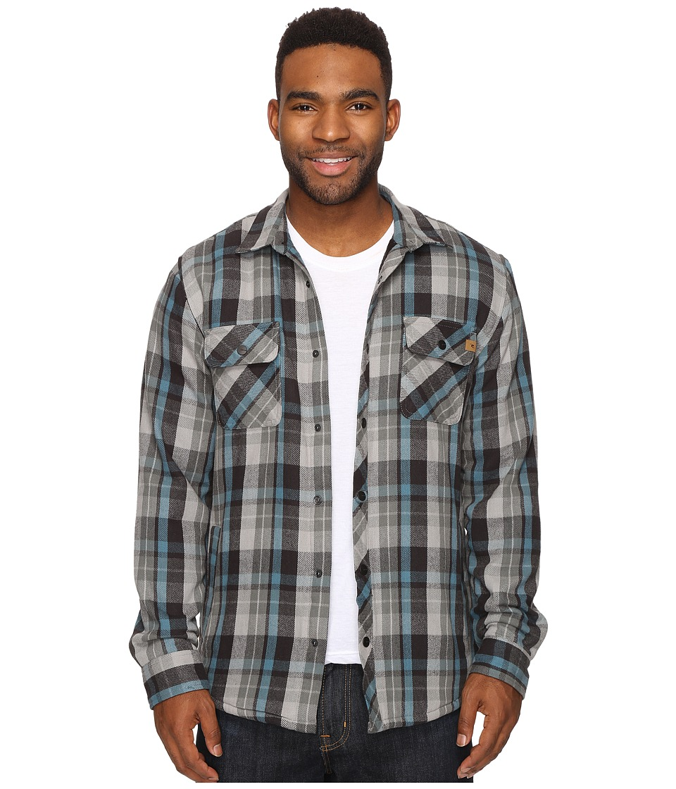 Rip Curl - Lumberton Long Sleeve Flannel (Charcoal) Men's Long Sleeve Button Up