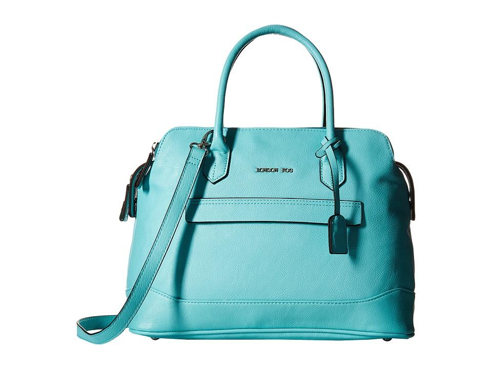 London Fog - Preston Triple (Green) Handbags