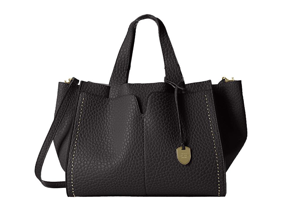 London Fog - Abbey Satchel (Black) Satchel Handbags