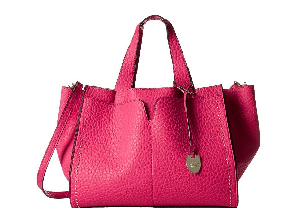 London Fog - Abbey Satchel (Pink) Satchel Handbags