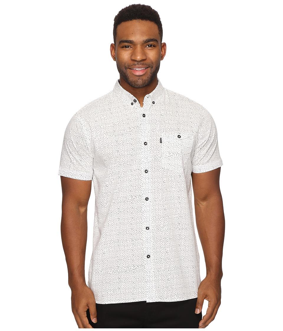 Rip Curl - Lodi Dodi Short Sleeve Shirt (White) Men's Short Sleeve Pullover