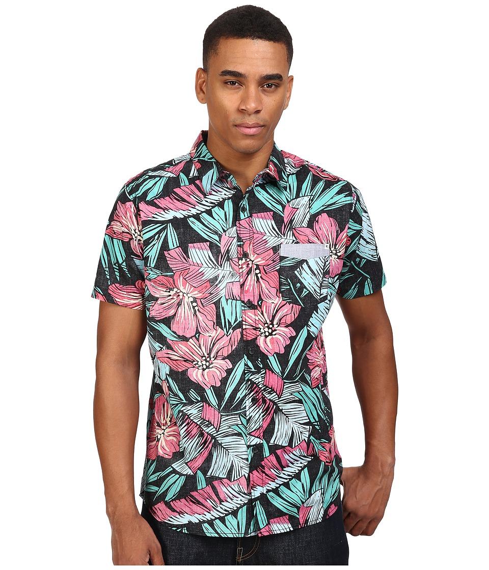 Rip Curl - Ryder Short Sleeve Shirt (Aqua) Men's Short Sleeve Pullover