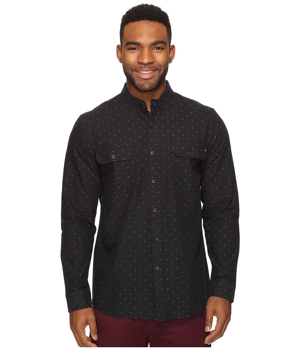 Rip Curl - Neville Long Sleeve Shirt (Black) Men's Long Sleeve Pullover